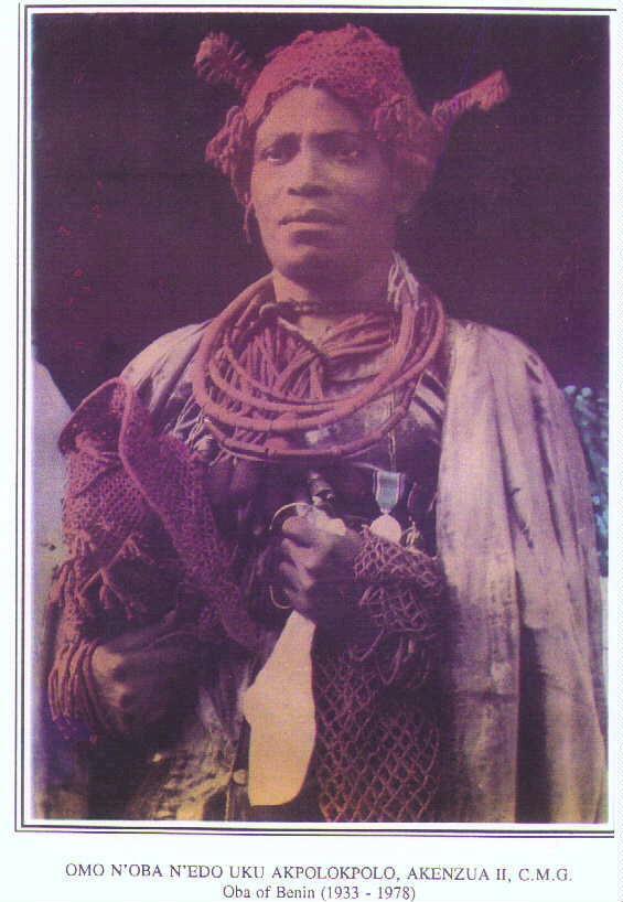 Oba Akenzua II (1933 - 1978)
